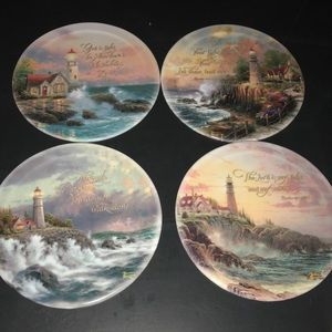 Thomas Kincaid Bradford exchange collectors plates